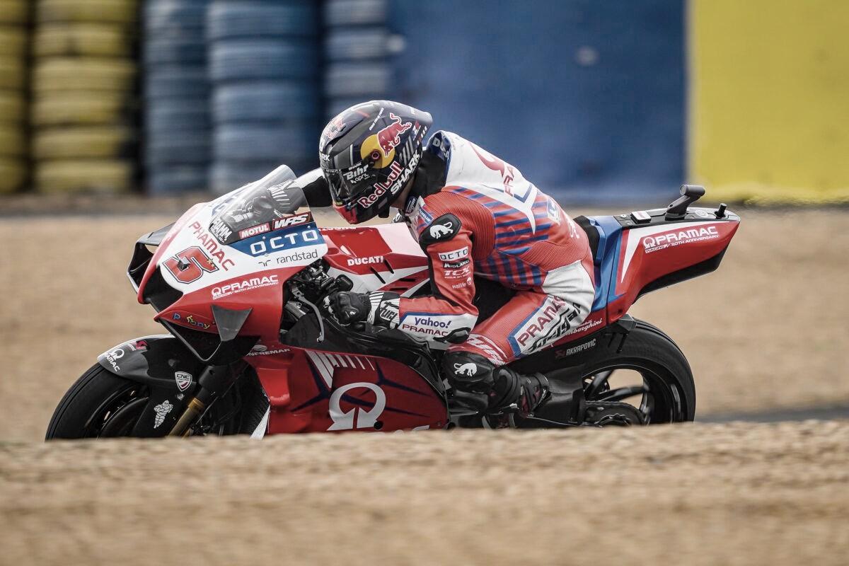 MotoGP FP2 GP de Francia: los franceses dominan