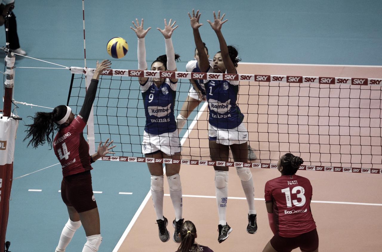 Resultado Osasco-Audax x Itambé/Minas pela semifinal da Superliga Feminina (3-1)