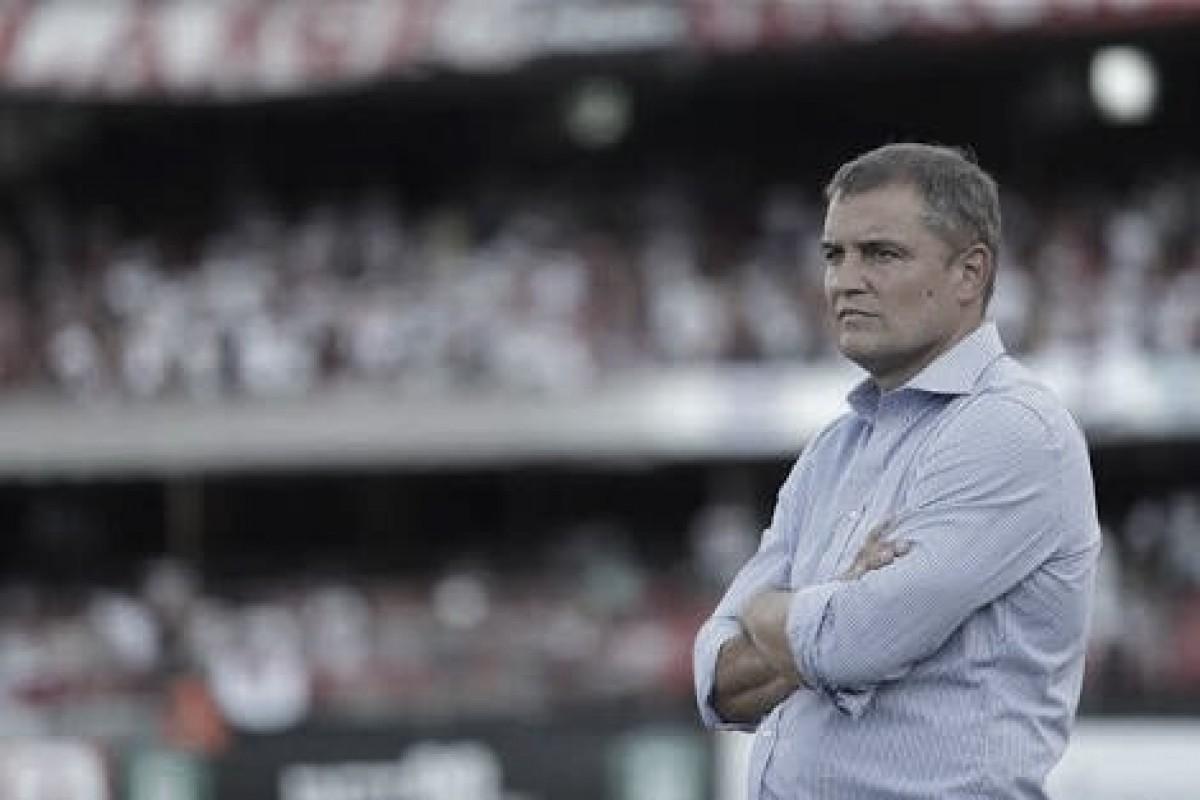 """Após vitória no clássico, Aguirre diz que São Paulo tem """"cara de time uruguaio"""""""