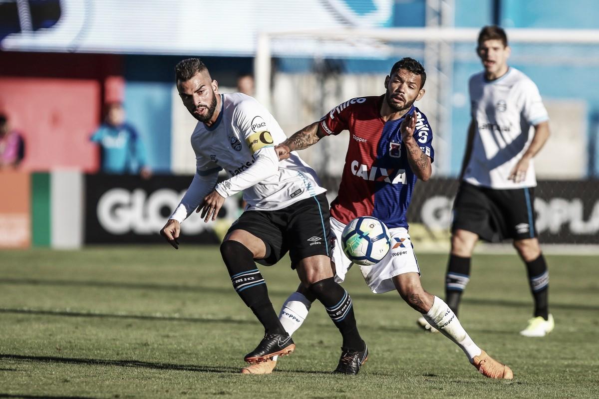 Paraná segura pressão do Grêmio e equipes empatam sem gols pelo Brasileiro