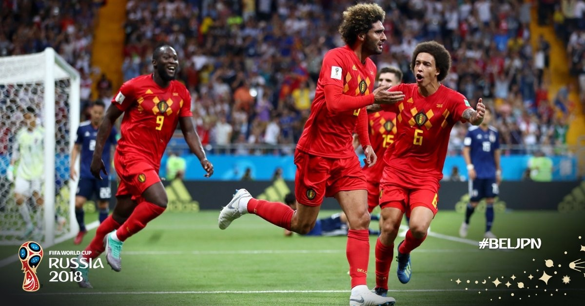 Russia 2018 - Rimonta pazzesca del Belgio sul Giappone, i Diavoli rossi raggiungono il Brasile ai quarti