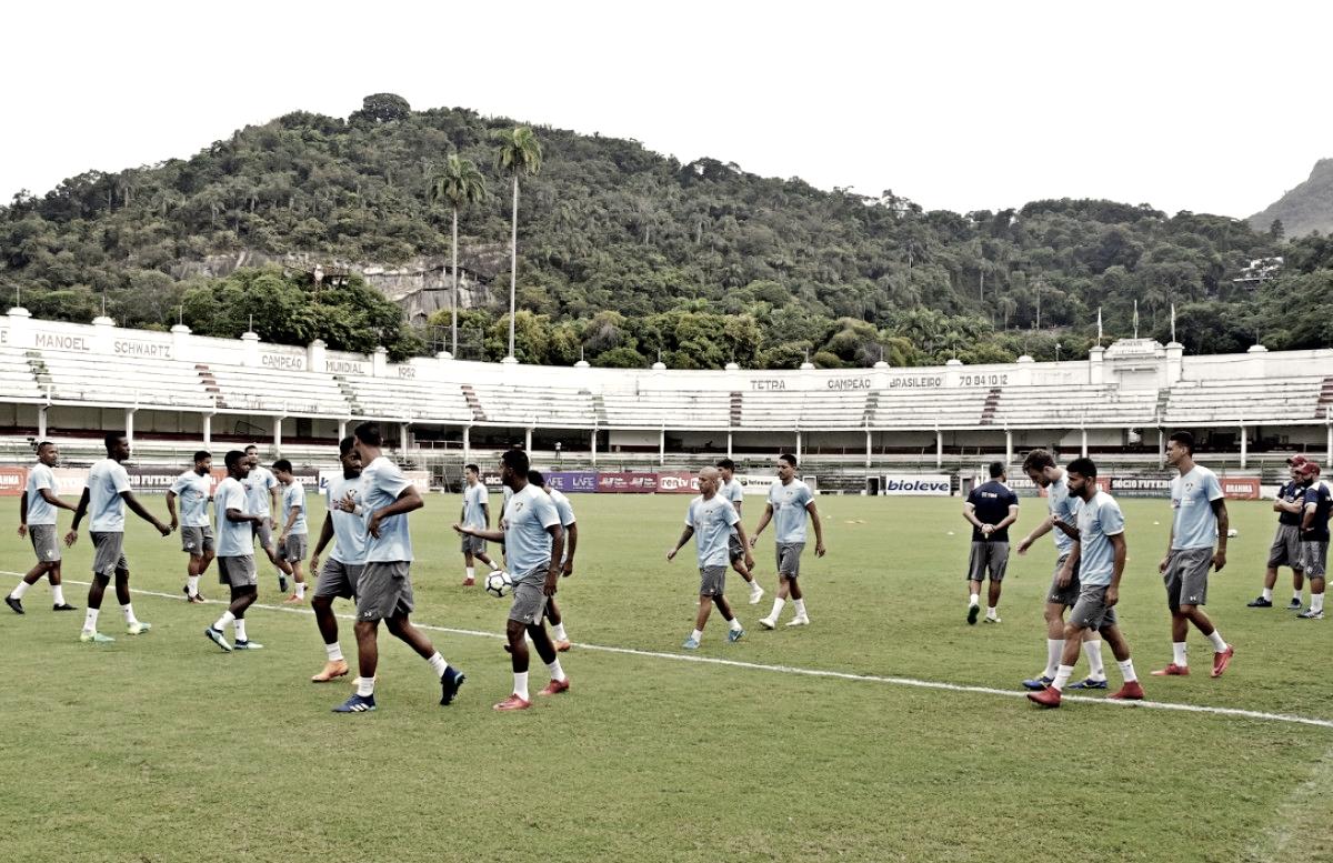 Torcida organizada pede por treino do Fluminense em Laranjeiras