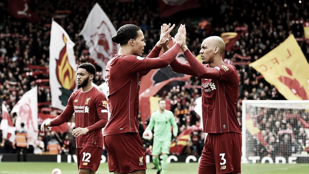De virada, Liverpool vence Bournemouth e se recupera rumo ao título inglês