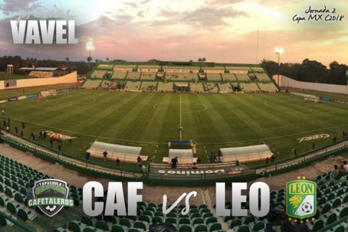 Previa Cafetaleros - León: Segunda jornada de la Copa MX