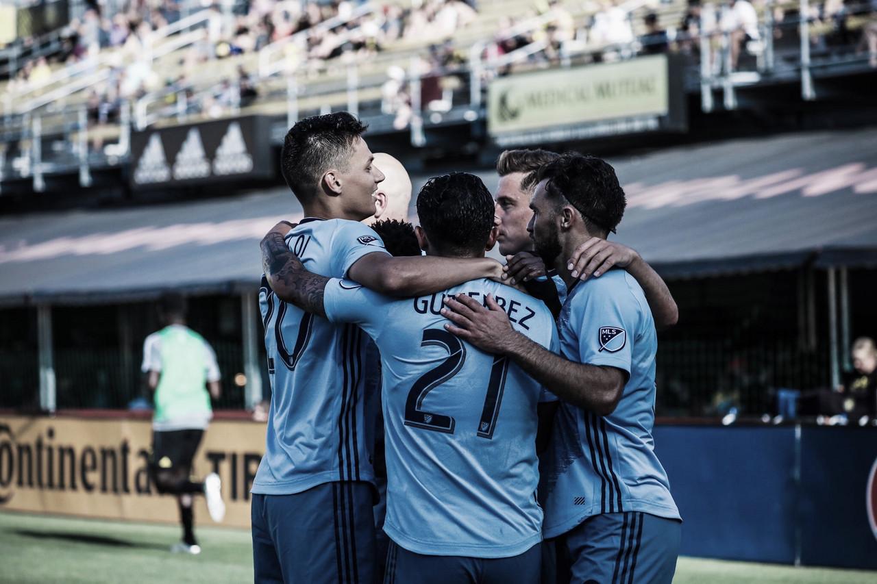 Sporting KC se lleva la victoria