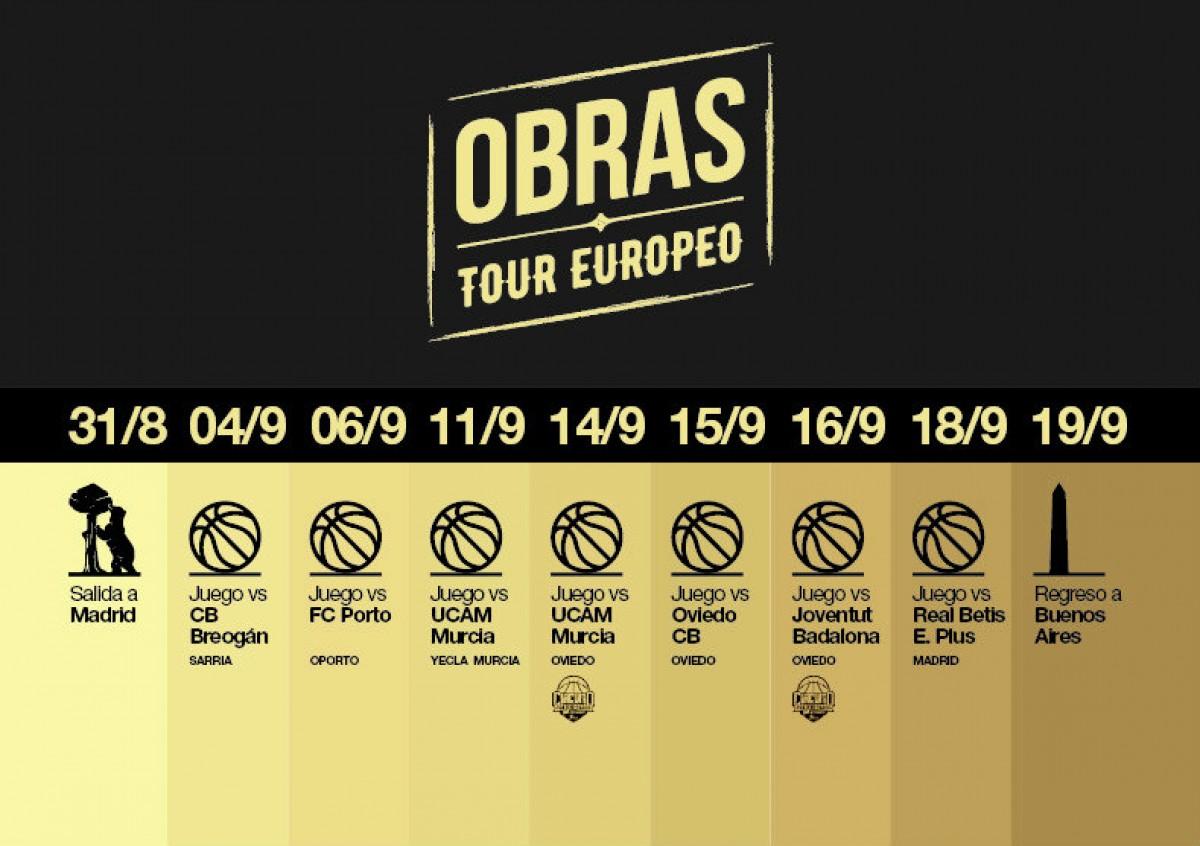 Obras Basket viaja a Europa