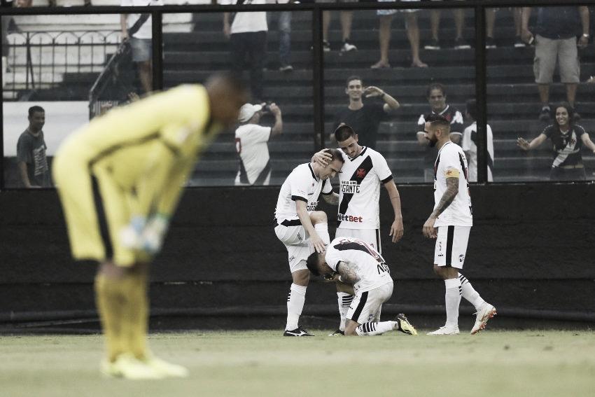 Rossi marca pela primeira vez e Vasco vence Boavista pela Taça Rio