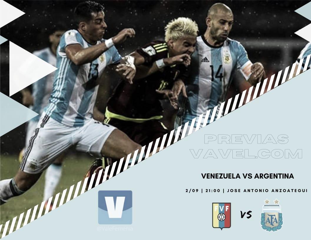La previa de la Selección Argentina vs Venezuela por las Eliminatorias