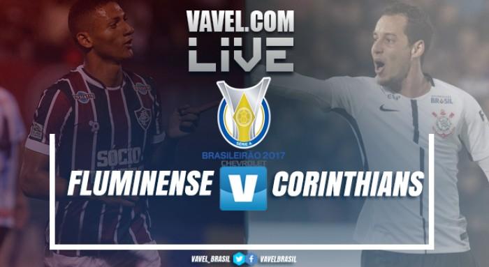 Jogo Fluminense x Corinthians AO VIVO online no Campeonato Brasileiro 2017 (0-0)