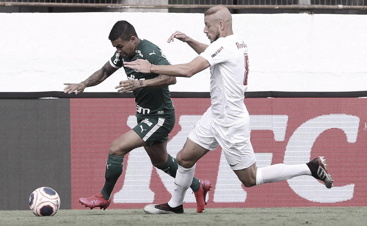 Red Bull Bragantino derrota Palmeiras e conquista sua primeira vitória no Paulistão