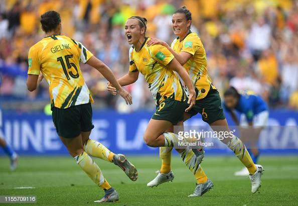 Women's World Cup: Australia 3-2 Brazil