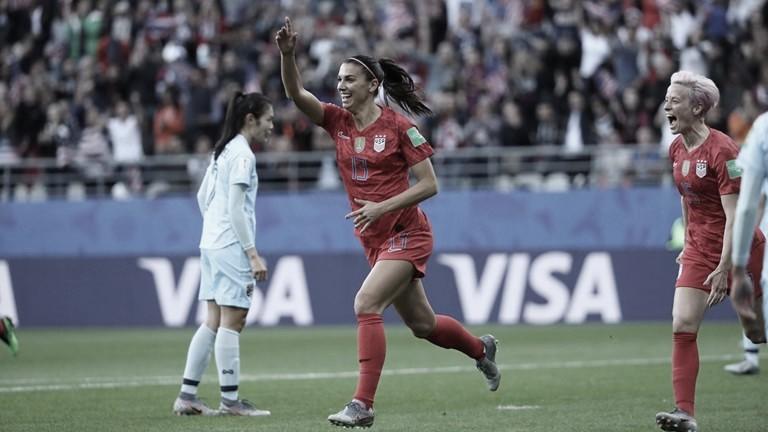 Gols e melhores momentos Estados Unidos 3x0 Chile pela Copa do Mundo Feminina