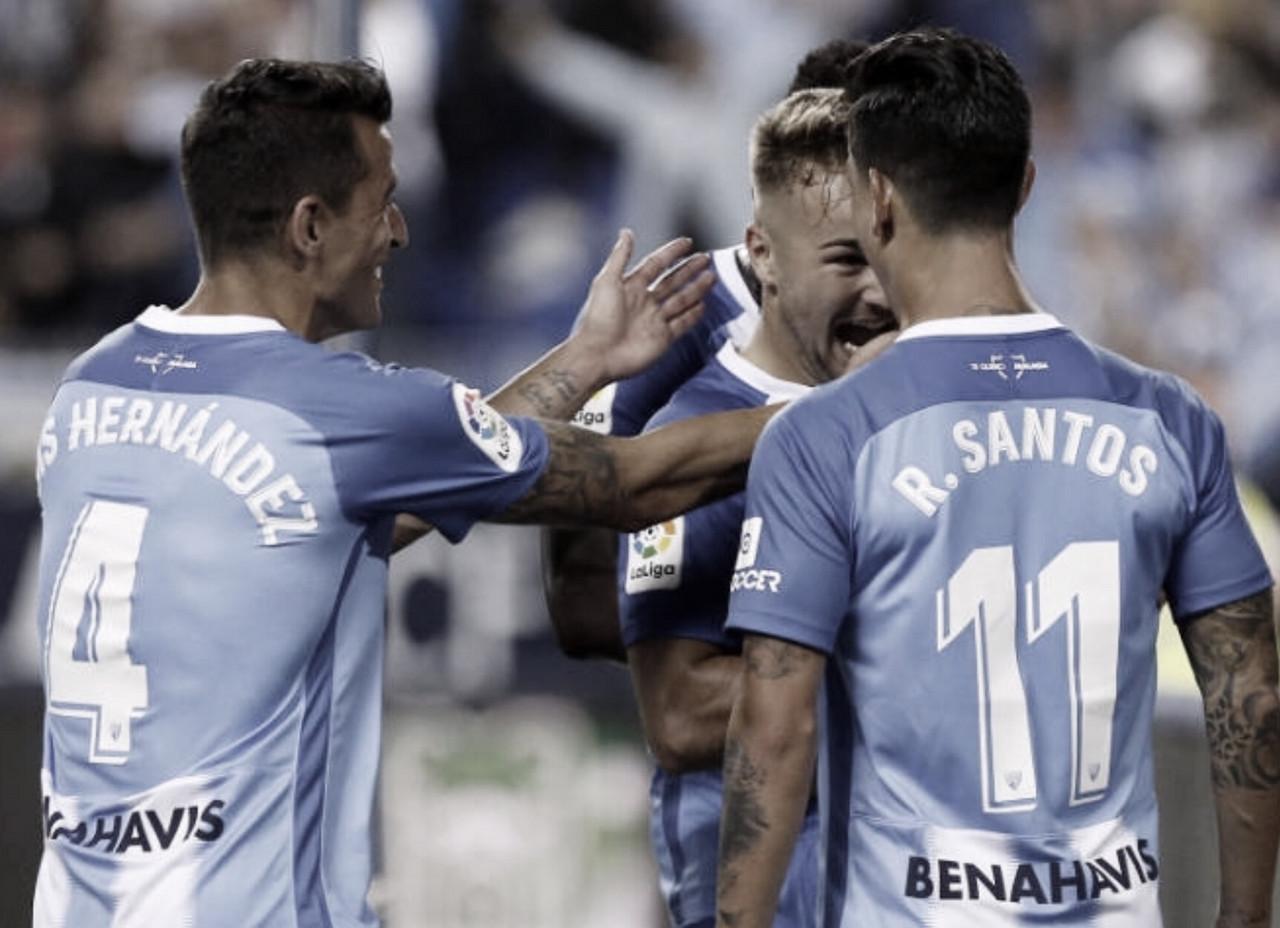 Plan semanal del Málaga CF