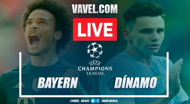 Gols e melhores momentos para Bayern de Munique 5x0 Dínamo Kiev pela Champions League