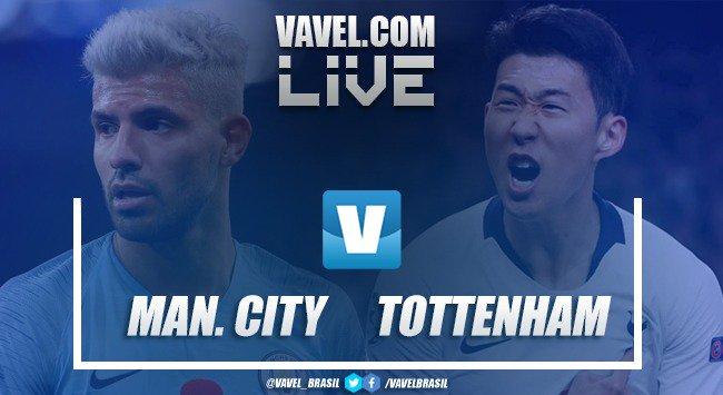 Resultado Manchester City x Tottenham pela Premier League (1-0)