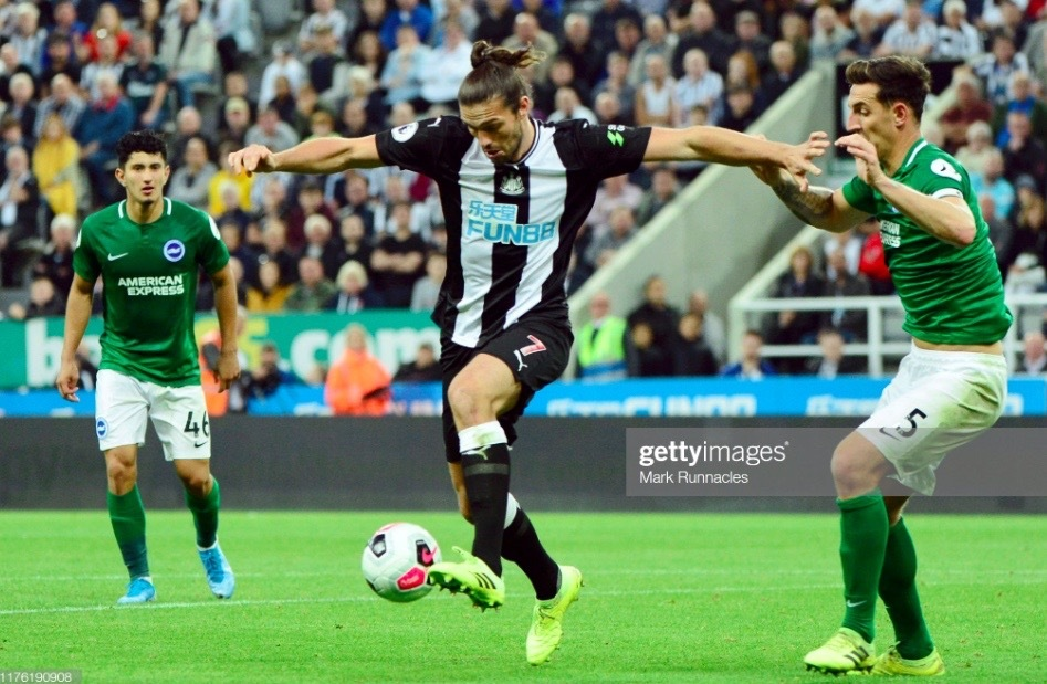 Newcastle United 0-0 Brighton & Hove Albion: Lack of quality up top costs both sides