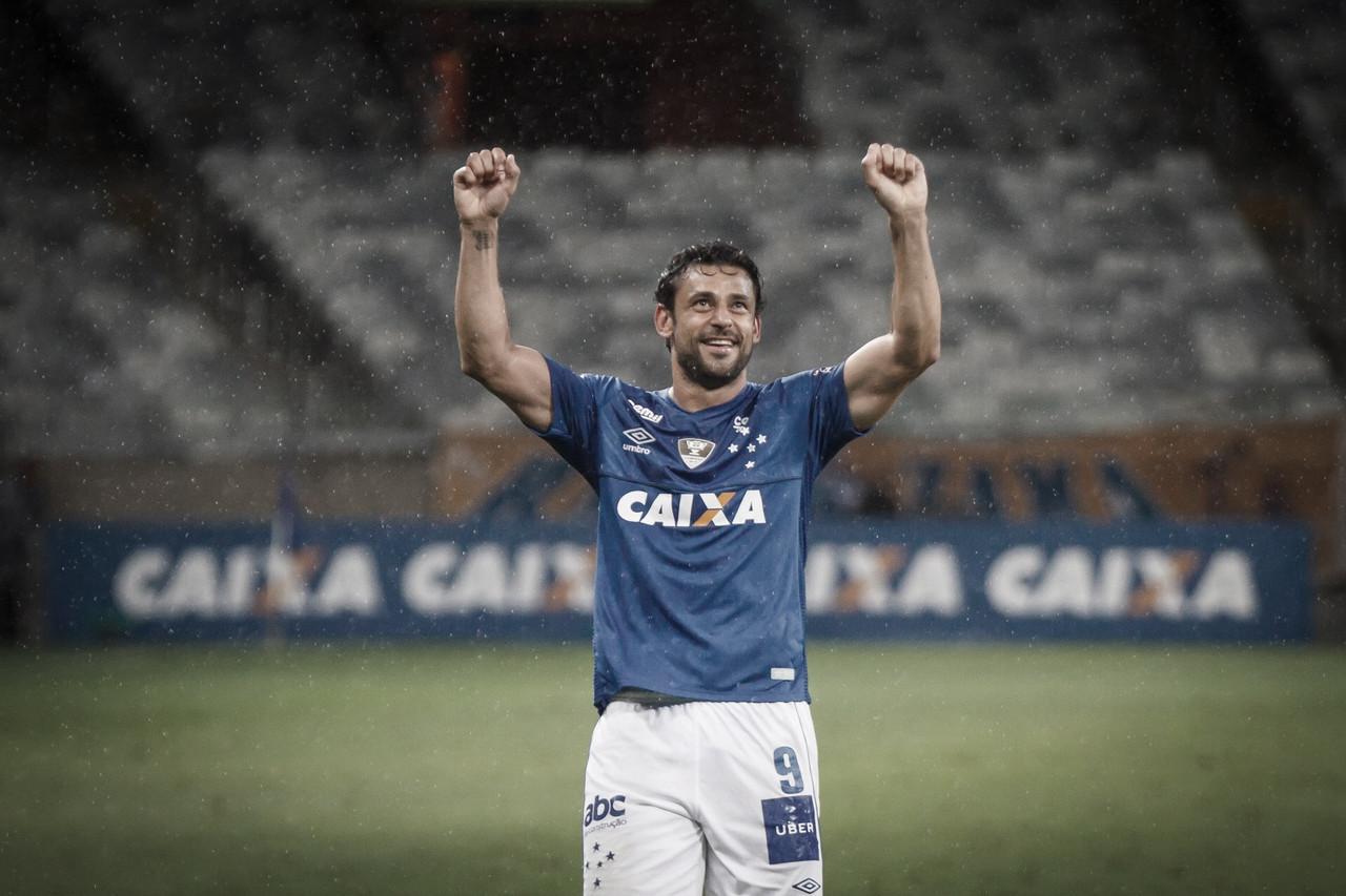 Após grave lesão, Fred comemora bom retorno no Cruzeiro