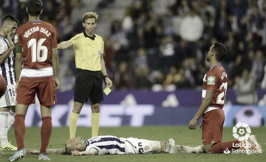 Real Valladolid - Granada CF, puntuaciones del Real Valladolid, jornada 6 de la Liga Santander
