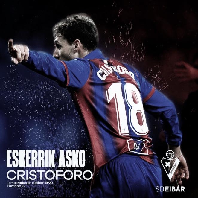 La SD Eibar prescinde de los servicios de Sebastián Cristóforo