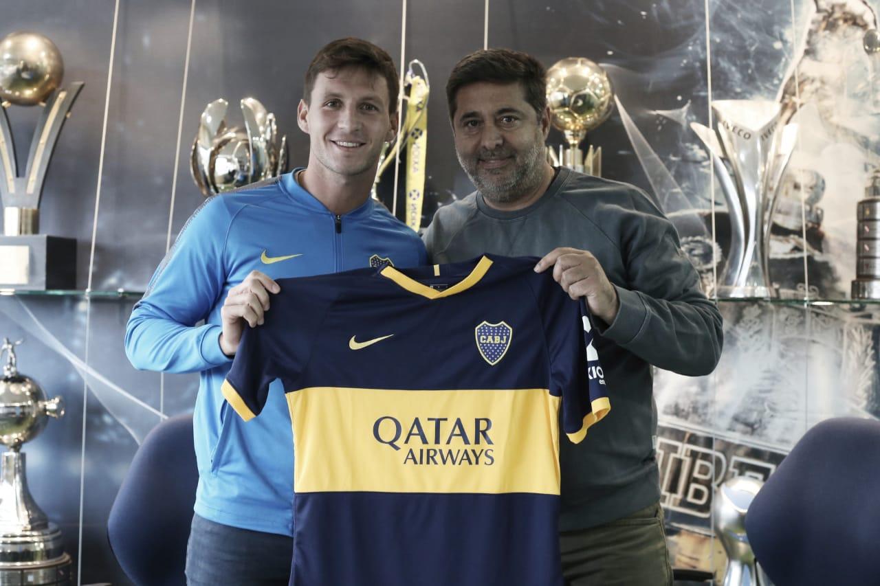 Franco Soldano es nuevo jugador de Boca