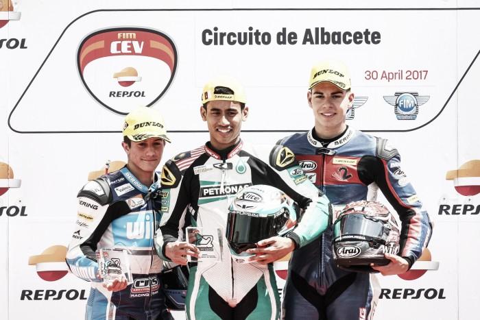 Moto2:Estreno por lo alto de Augusto Fernández y elEasyRace