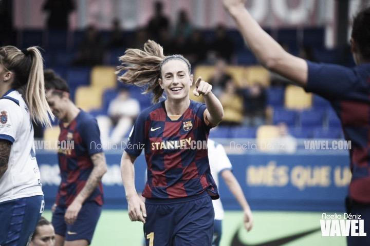 El Barça supera al Granadilla y despide el año con victoria