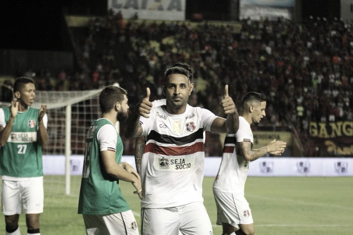 Fabinho Alves destaca crescimento do Santa Cruz e espera surpreender Sport na Ilha