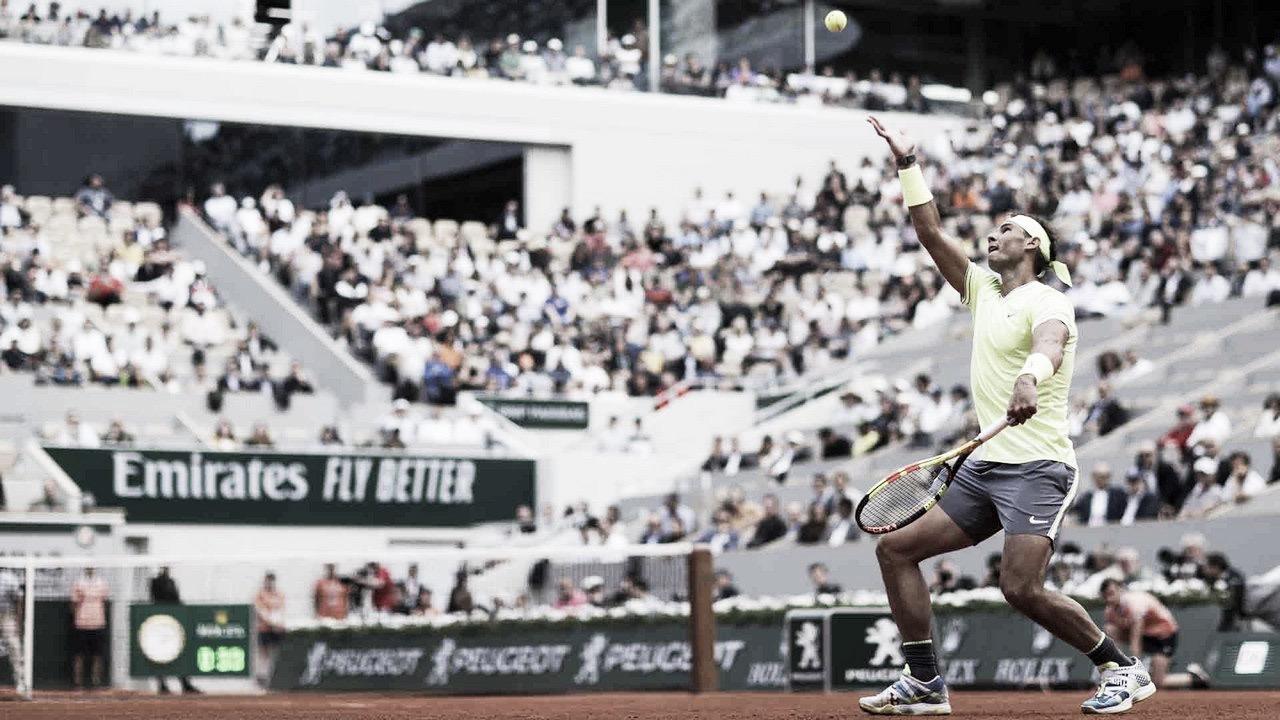 Hendecampeão, Nadal arrasa Hanfmann e estreia com o pé direito em Roland Garros
