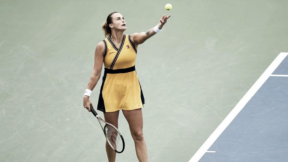 Sabalenka vence Zidansek com autoridade e vai à terceira rodada do US Open