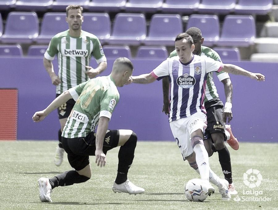 Real Valladolid vs Real Betis: puntuaciones Real Betis 34ª jornada Liga Santander