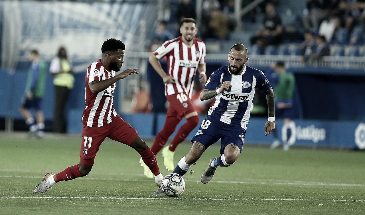 Atlético de Madrid tem atuação ruim e fica no empate com Alavés pela La Liga