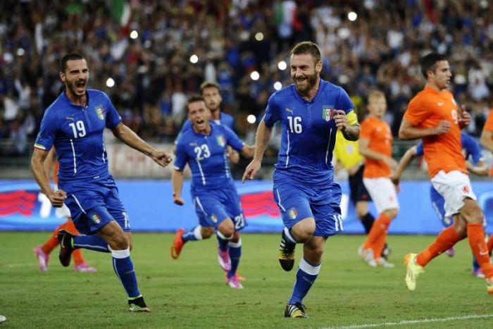 Italia, test di lusso contro un'Olanda nel caos