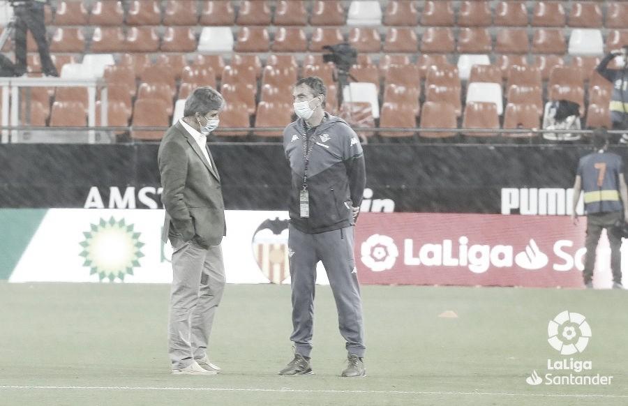 """Pellegrini: """"Estoy contento porque hicimos un partido muy completo"""""""