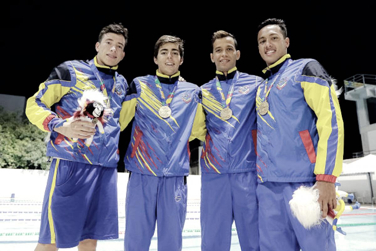 Natación consigue la primera de Oro para Venezuela