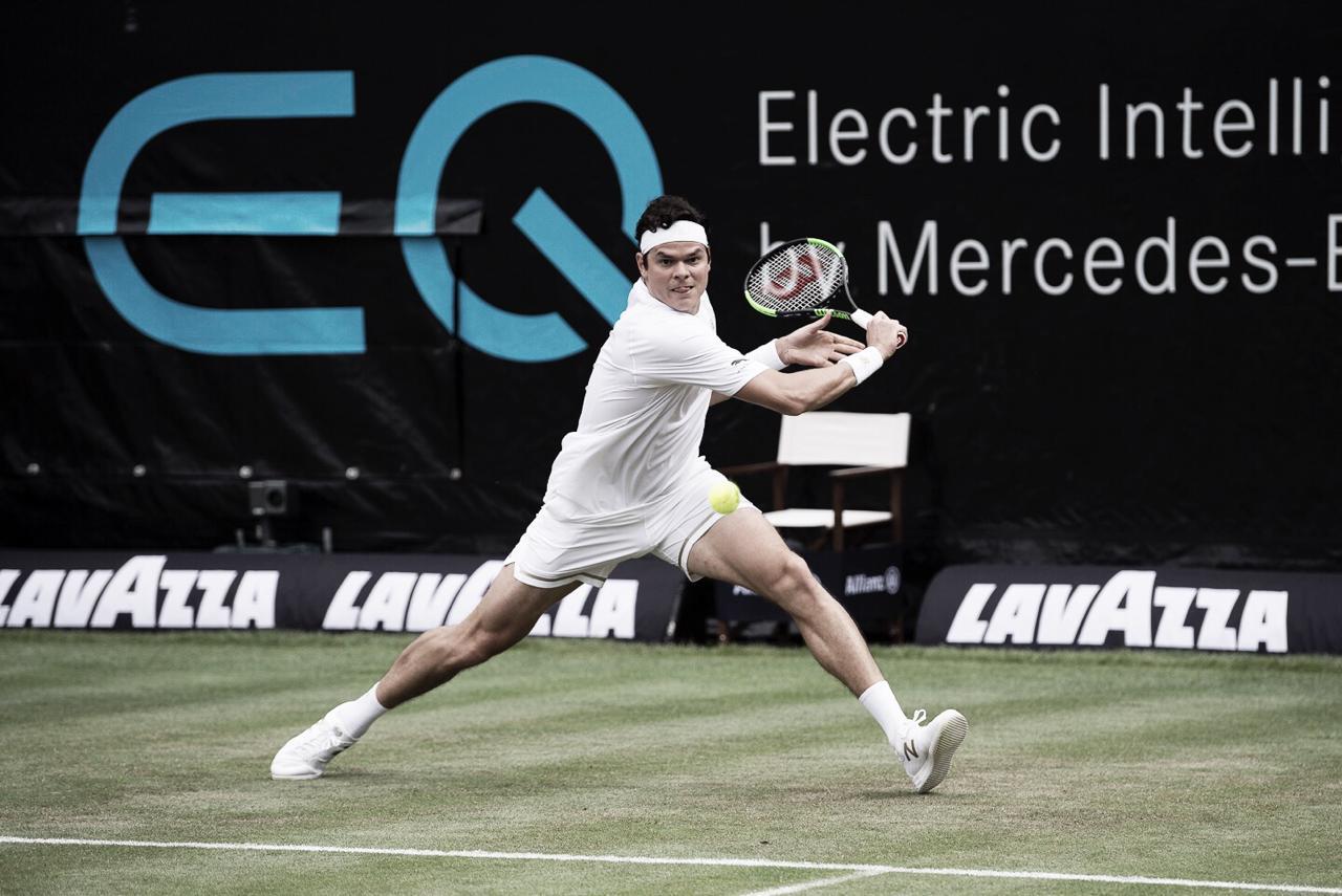 Raonic vence Fucsovics e marca encontro com Auger-Aliassime na semifinal do ATP 250 de Stuttgart