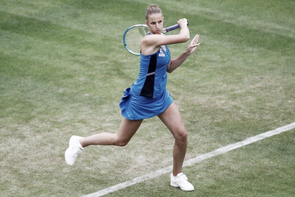 Em grande atuação, Pliskova vence Alexandrova e está na semifinal do WTA Premier de Eastbourne