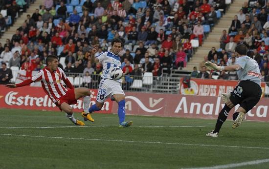 El Almería regresa al segundo puesto