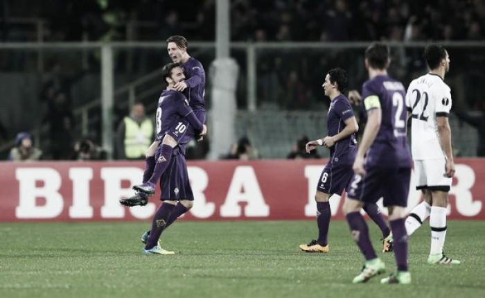 Europa League, Bernardeschi risponde a Chadli: è 1-1 tra Fiorentina e Tottenham