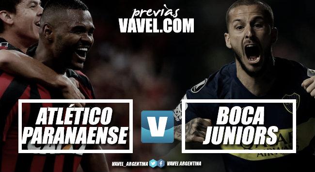 Previa Atlético Paranaense - Boca: con el objetivo de mantener la punta