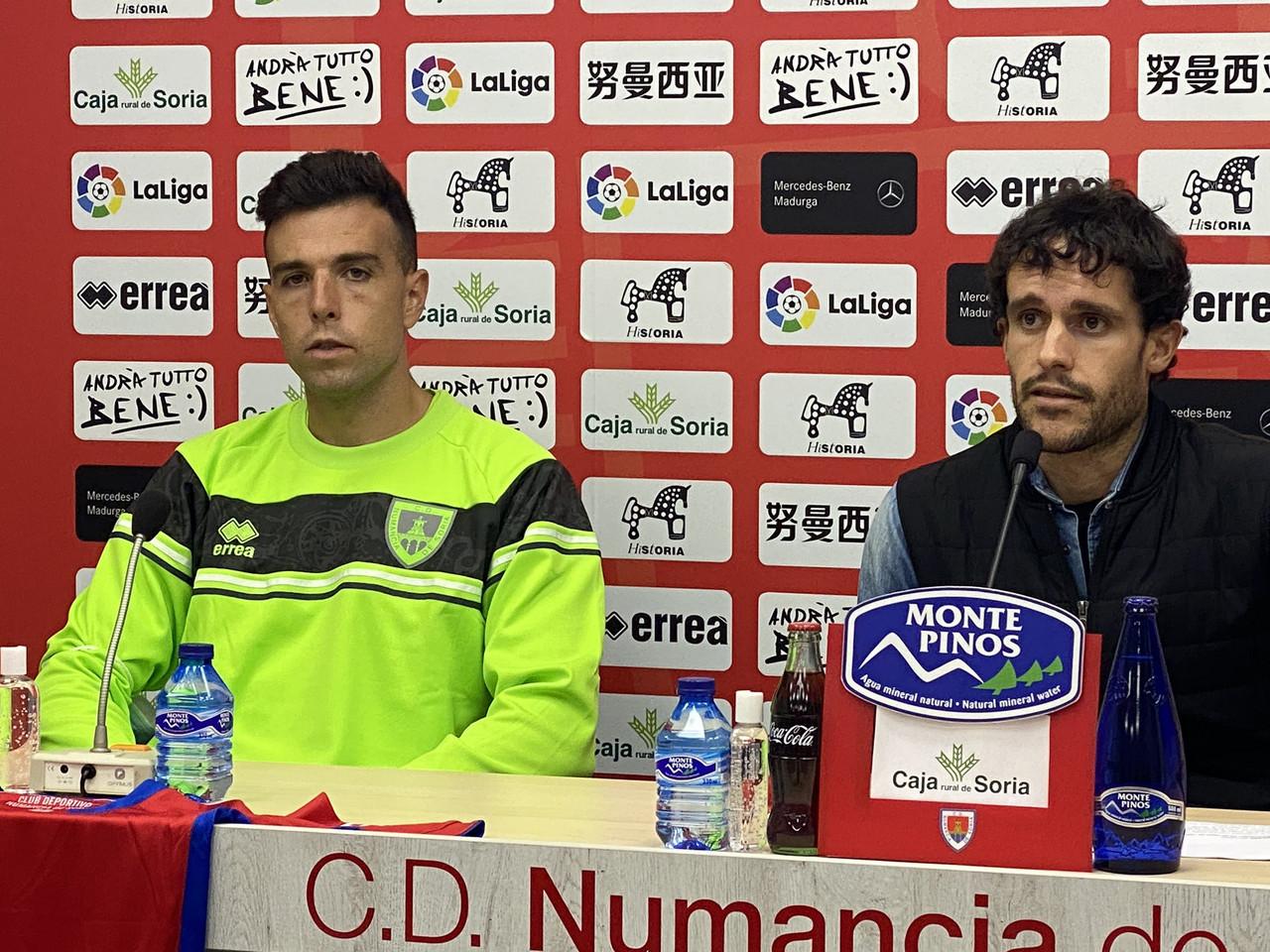 Gabarre, presentado como nuevo jugador numantino