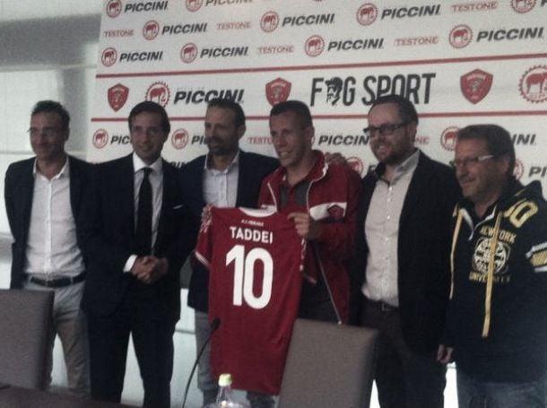 Taddei deixa a Roma após nove temporadas e assina com o o Perugia