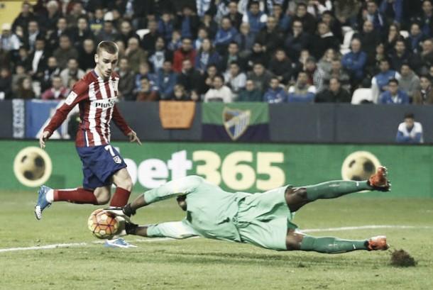 L'Atletico Madrid si ferma alla Rosaleda: è 1-0 Malaga nel posticipo di Liga