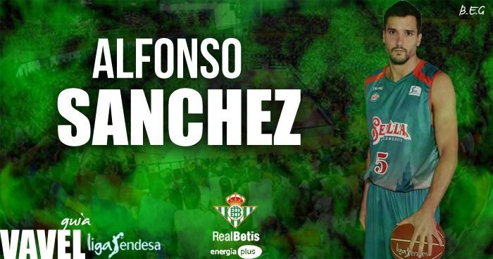 Real Betis Energía Plus: Alfonso Sánchez