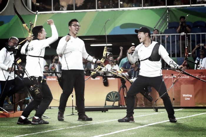 Rio 2016: South Korean men reclaim Archery team Gold thanks to outstanding final victory