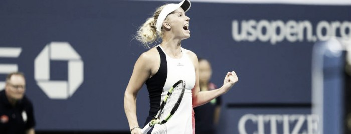 US Open: Wozniacki se medirá con Kerber en semis