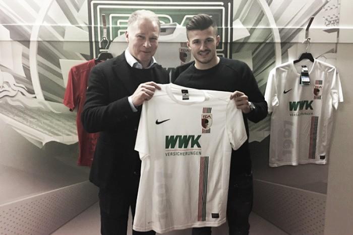 FC Augsburg sign Albian Ajeti