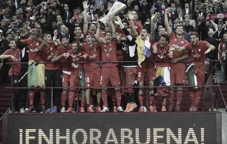 Se cumplen cinco años de la cuarta Europa League del Sevilla FC