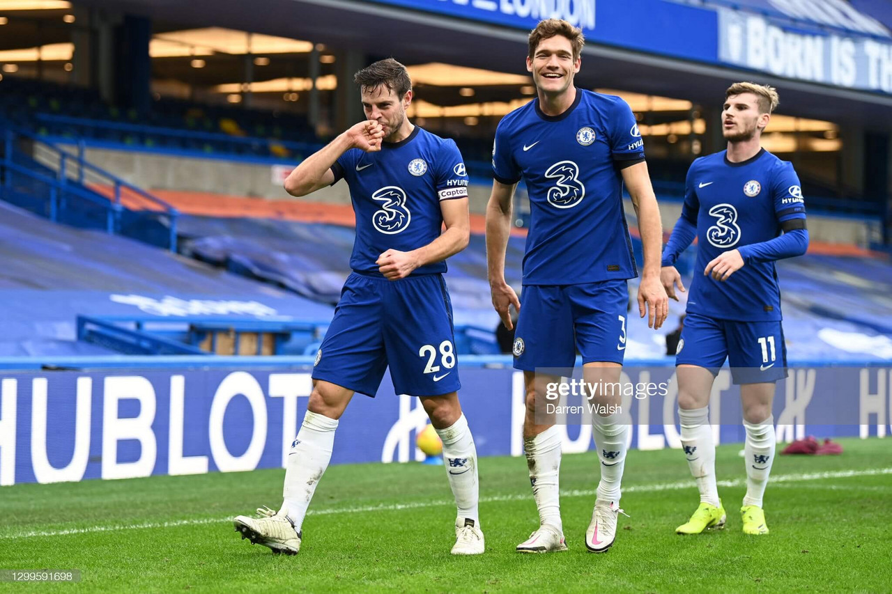 Chelsea 2-0 Burnley: Azpilicueta and Alonso strike to deliver Tuchel his first win as Chelsea boss