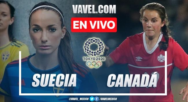 Goles y resumen del Suecia (2) 1-1 (3) Canadá en Final de Fútbol Femenil Tokio 2020
