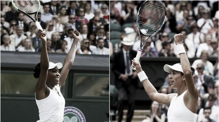 Para manter hegemonia da família Venus Williams encara Muguruza na final de Wimbledon